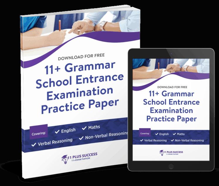 free 11 plus practice paper